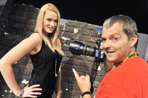 photokina-2014 Model Shooting
